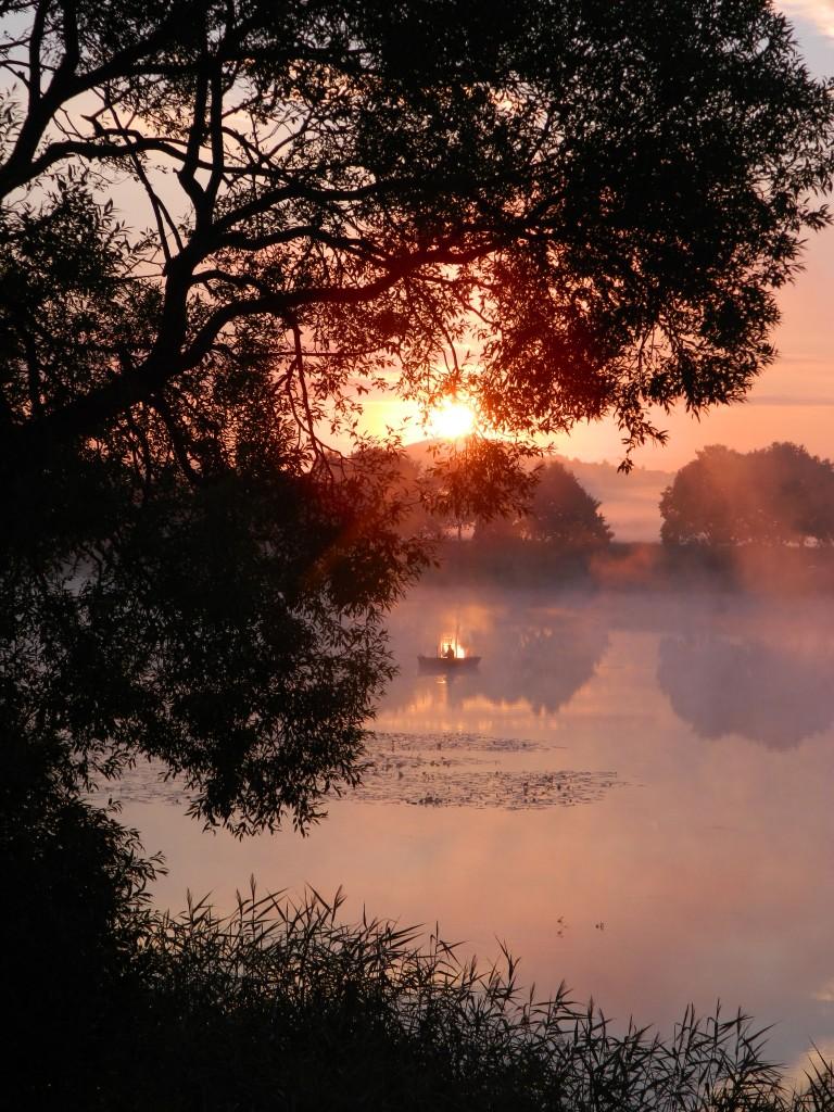 Zdjęcia: Spytkowice , malopolska, wschód Słońca przy Starym korycie Wisły , POLSKA