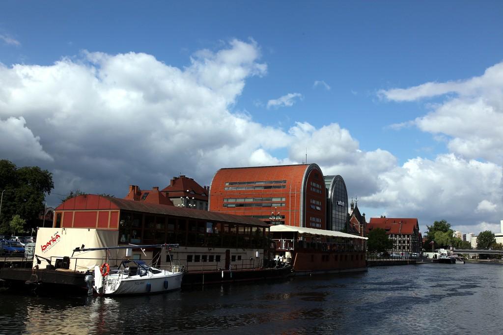 Zdjęcia: Rzeka Brda, Bydgoszcz, Barki, POLSKA