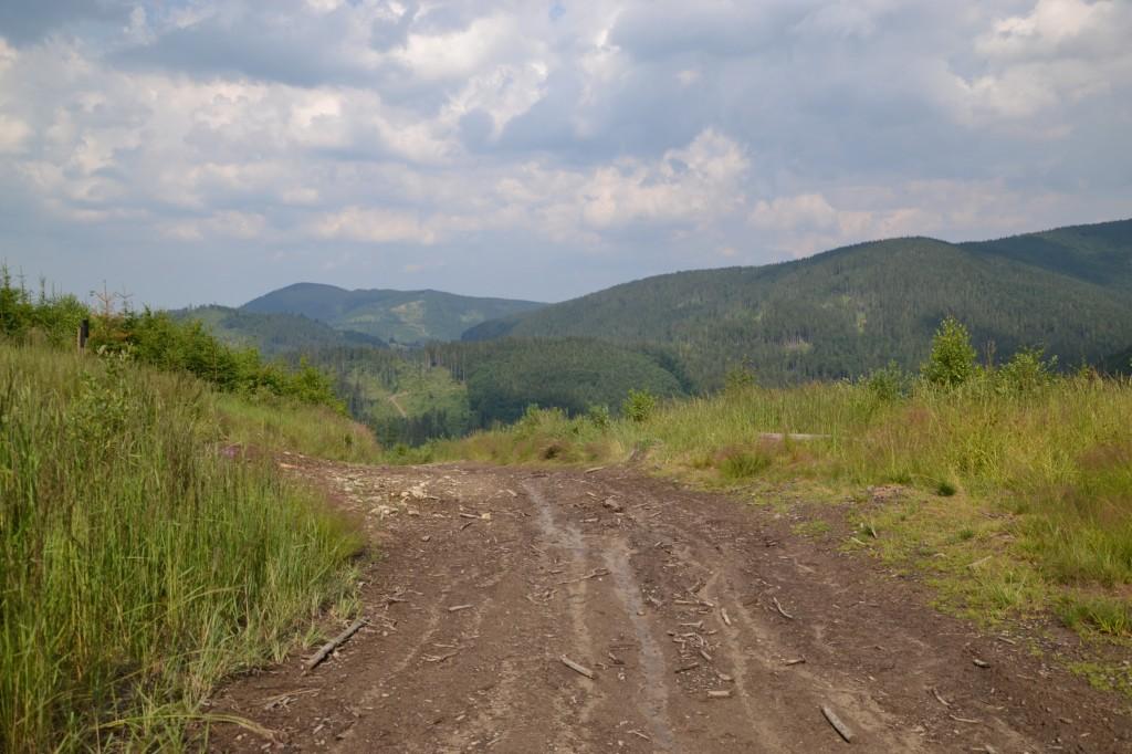 Zdjęcia: Pod Majcherową, Beskid Żywiecki, Po burzy, POLSKA