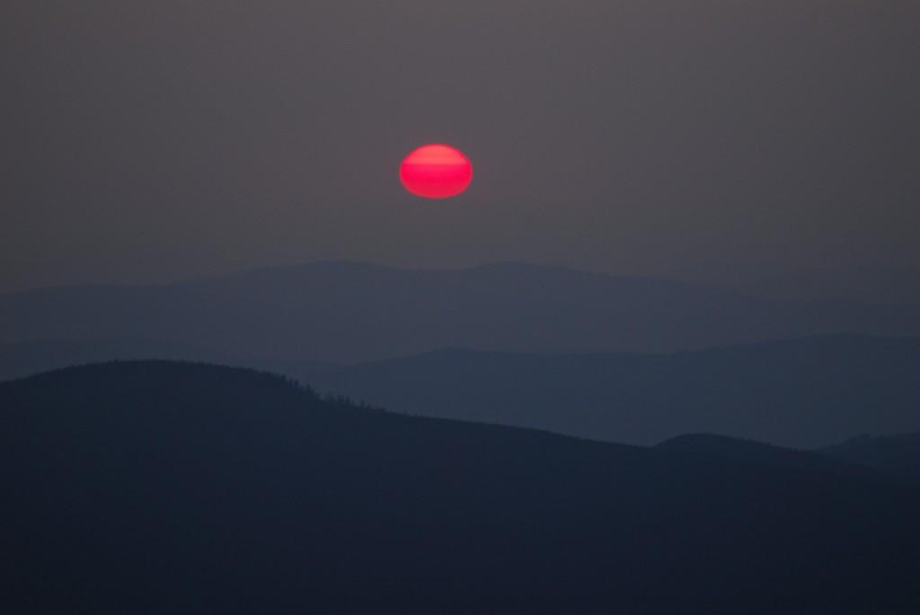 Zdjęcia: Babia Góra, Beskid Żywiecki, Wstało słońce, ja z nim, POLSKA
