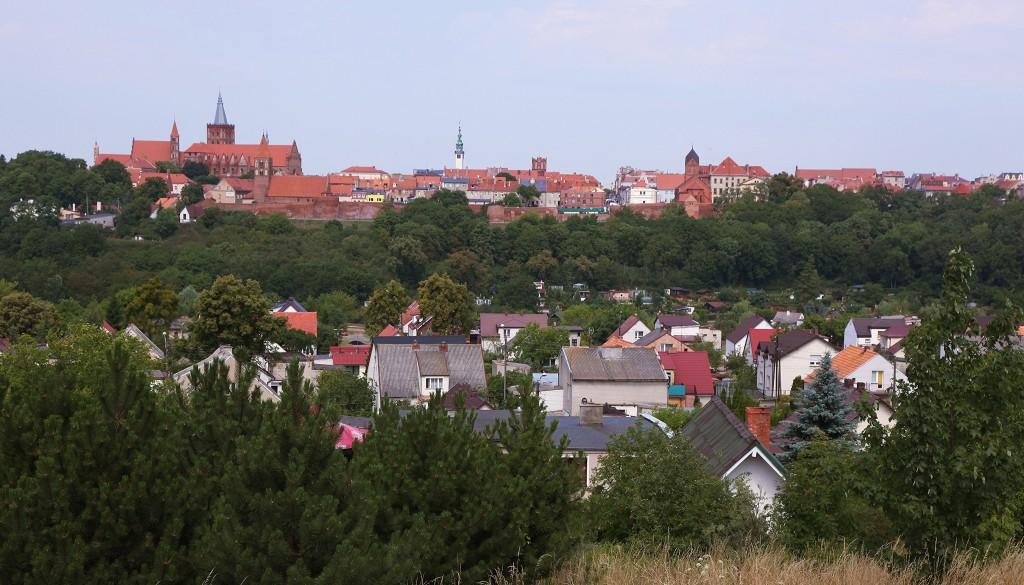 Zdjęcia: Chełmno, Ziemia Chełmińska, Panorama miasta, POLSKA