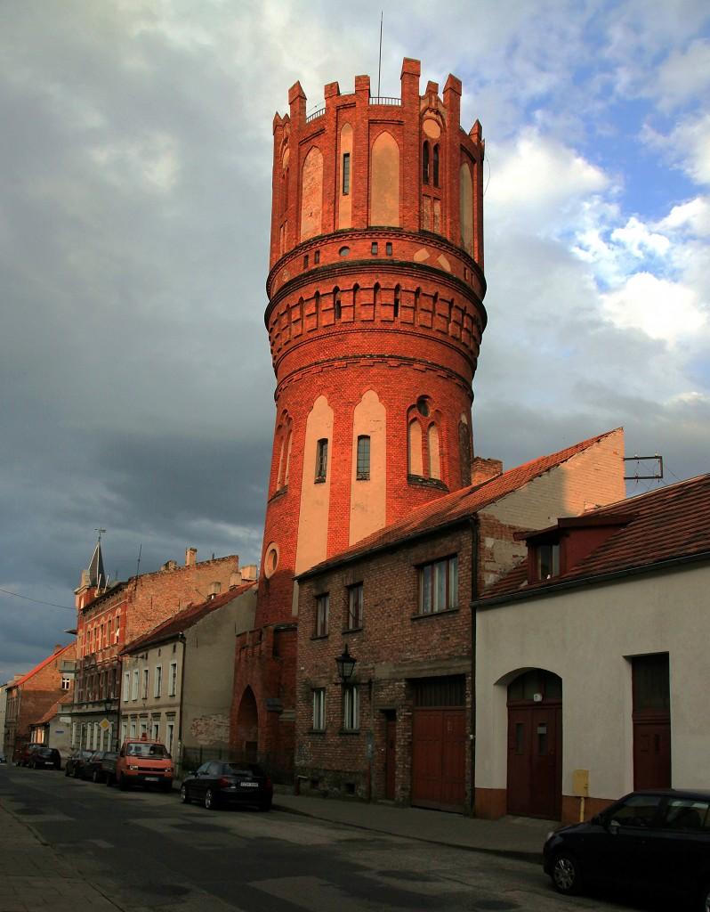 Zdjęcia: Ul. Dominikańska, Chełmno, Wieża ciśnień, POLSKA
