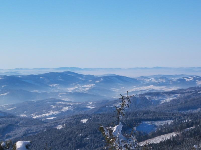 Zdjęcia: rejon Pilska, Beskid Żywiecki, Widok z okolicy Pilska, POLSKA