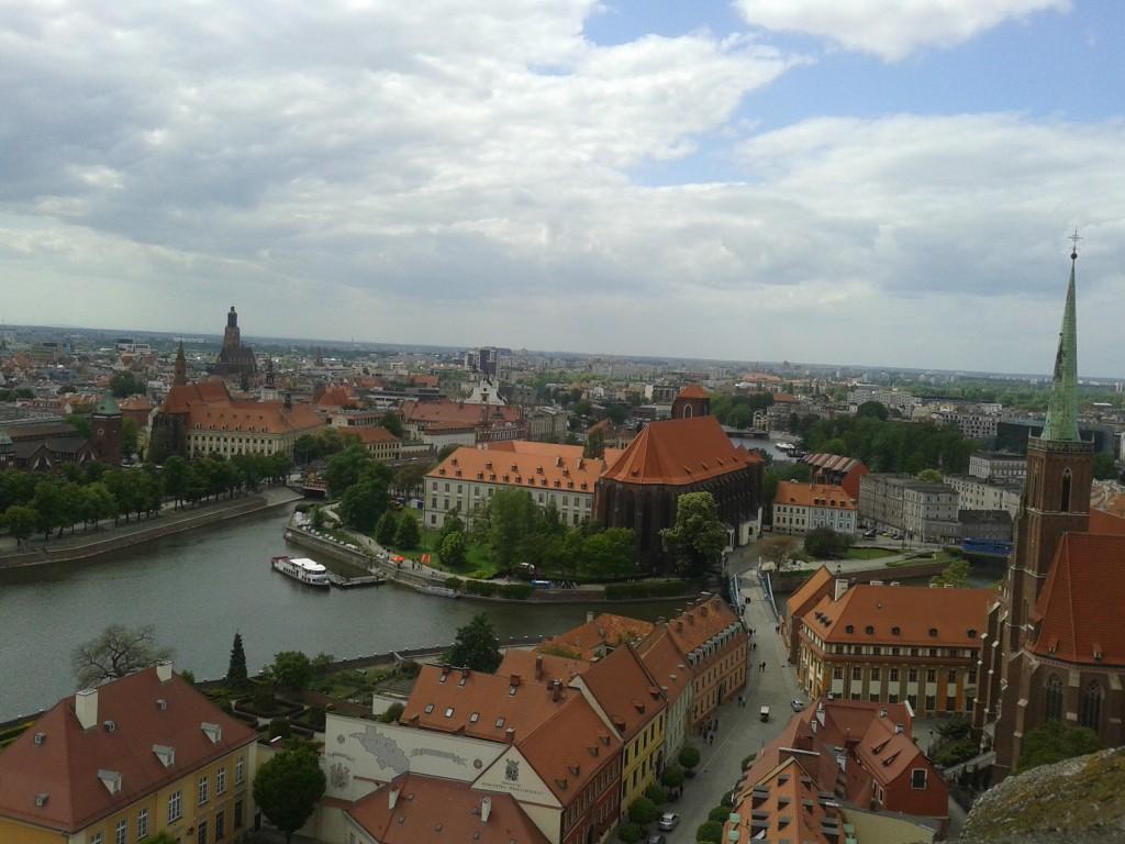 Zdjęcia: Wrocław, Dolny Śląsk, Panorama Wrocławia, POLSKA