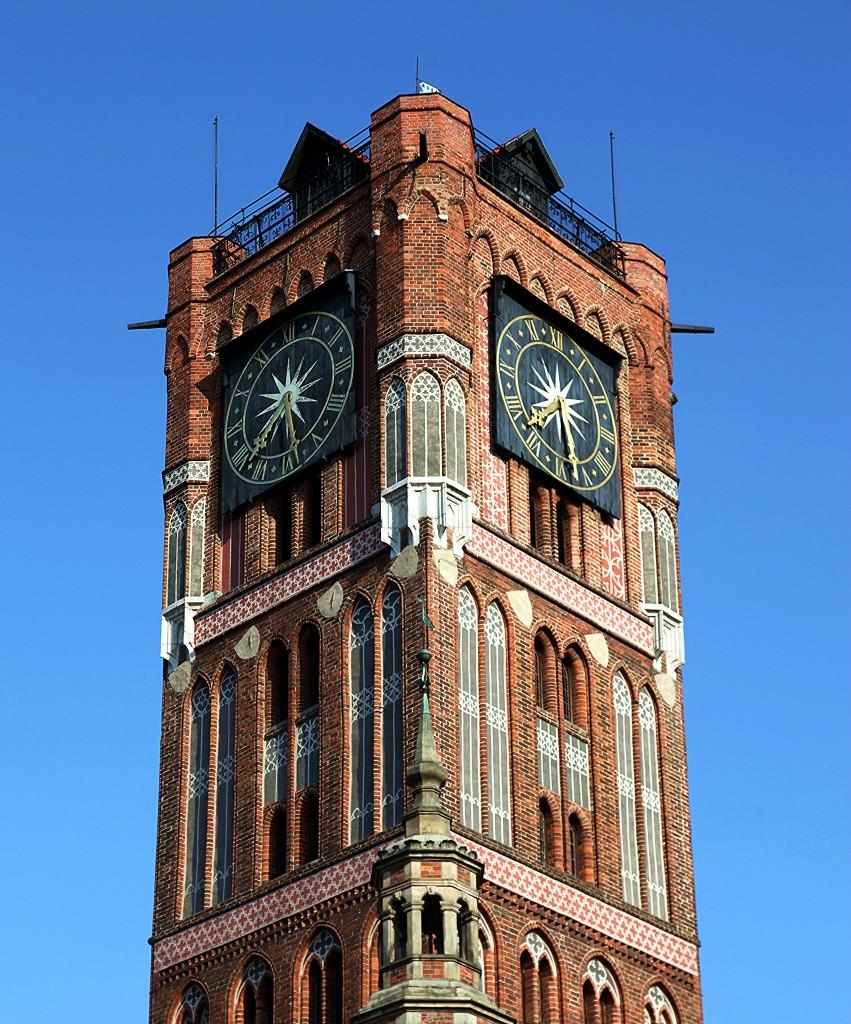 Zdjęcia: Stare Miasto, Toruń, Wieża Ratusza Staromiejskiego, POLSKA