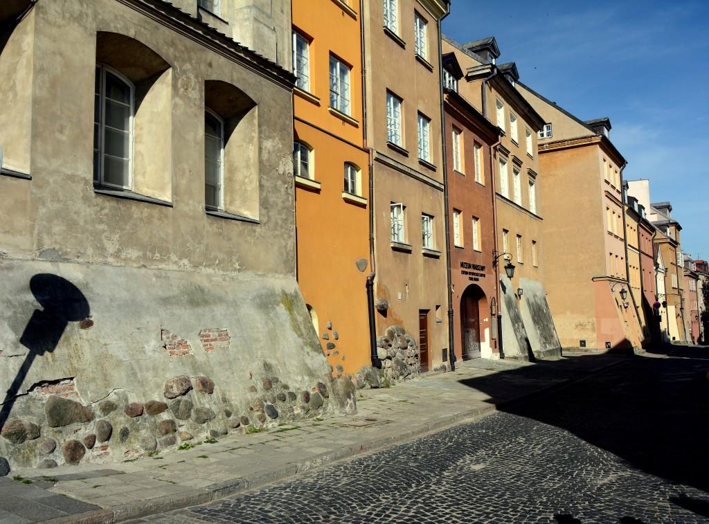 Zdjęcia: Warszawa, mazowsze, ul. Brzozowa - starówka, POLSKA