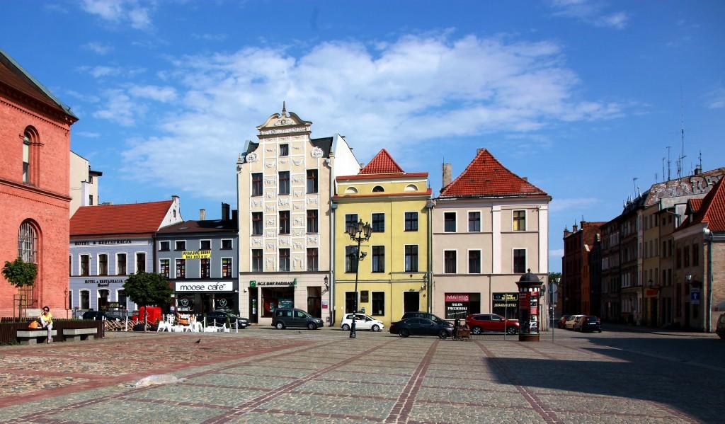 Zdjęcia: Rynek Nowomiejski, Toruń, Kamieniczki, POLSKA