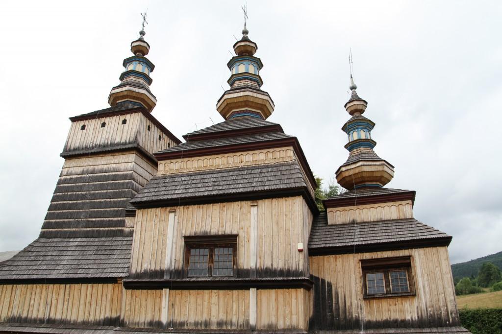 Zdjęcia: KREMPNA , Beskid Niski , IV Szlak Architektury Drewnianej , POLSKA