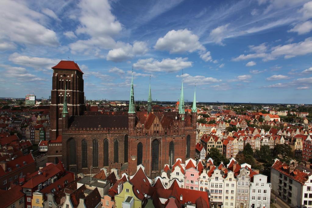 Zdjęcia: Gdańsk, Pomorskie, Kościół Mariacki, POLSKA