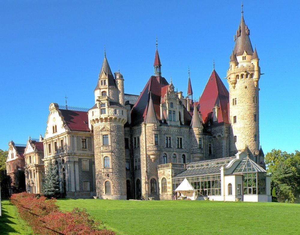 Zdjęcia: Moszna, Opolskie, Zamek w Mosznej, POLSKA
