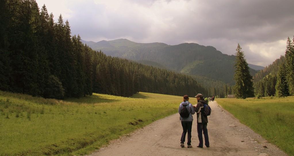 Zdjęcia: dolinka, tatry, którędy na górę..., POLSKA
