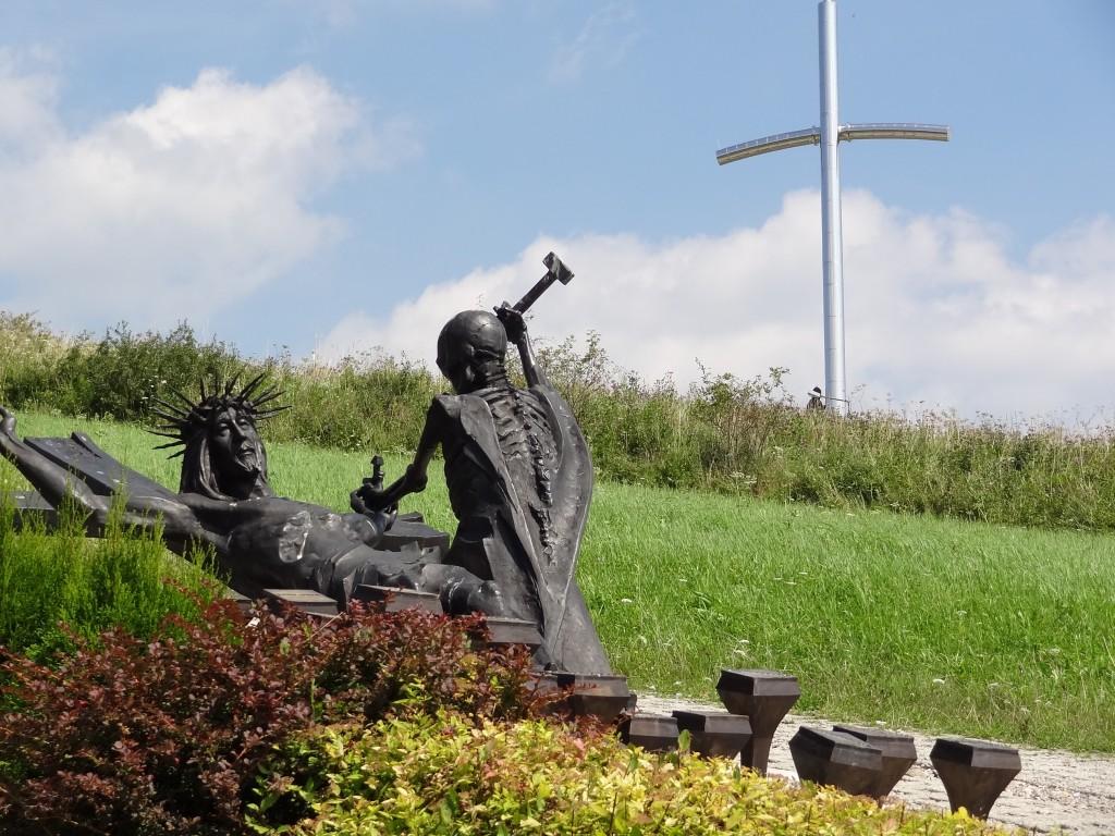Zdjęcia: Wzgórze Matyska, Radziechowy, Żywiecczyzna, Golgota Beskidów - Jezus do krzyża przybity, POLSKA