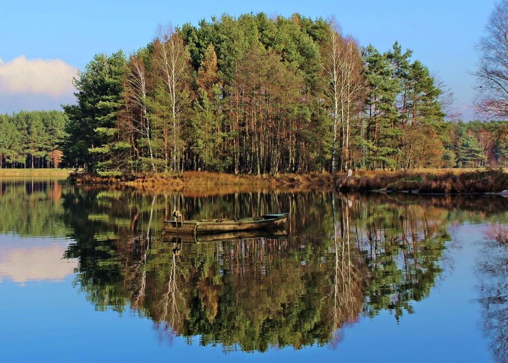 Zdjęcia: Miotek - Zielona, Śląskie, w odbiciu ukryta..., POLSKA
