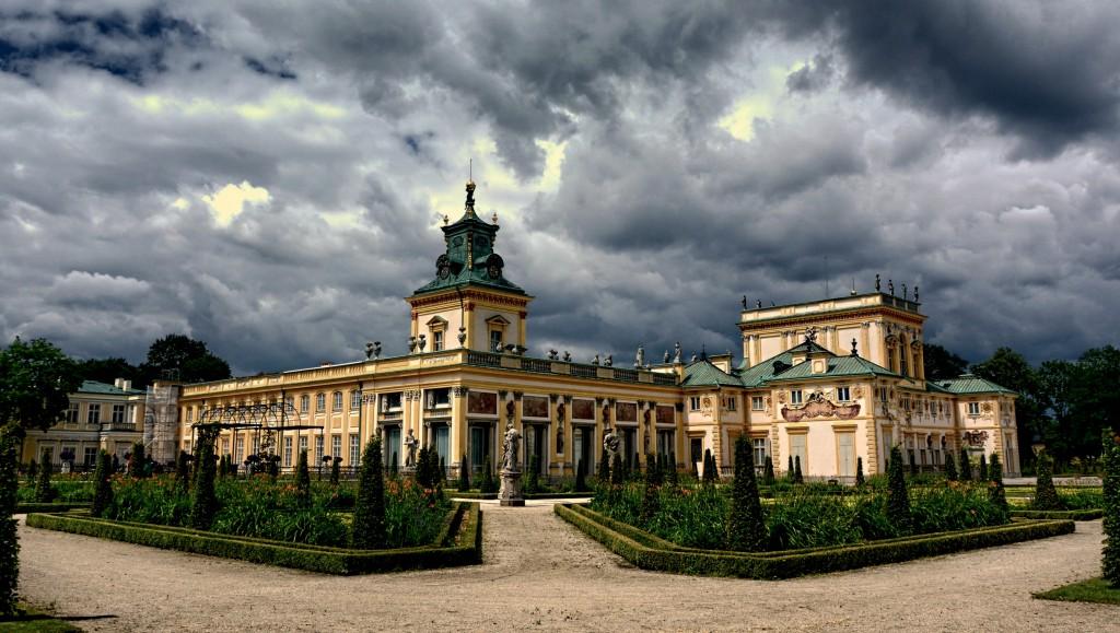 Zdjęcia: Warszawa, mazowsze, Pałac w Wilanowie , POLSKA