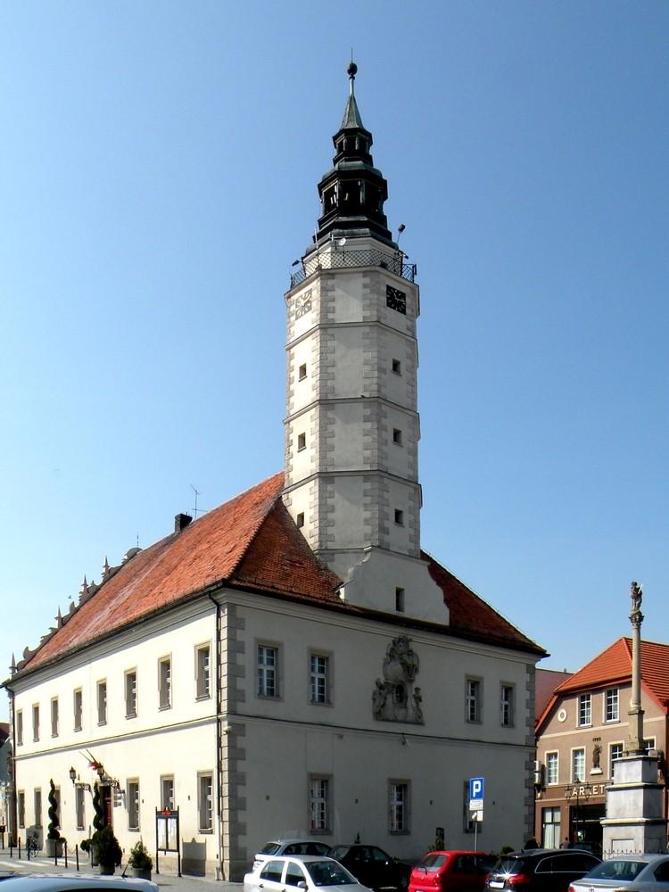 Zdjęcia: Głogówek, opolskie, Ratusz w Głogówku, POLSKA