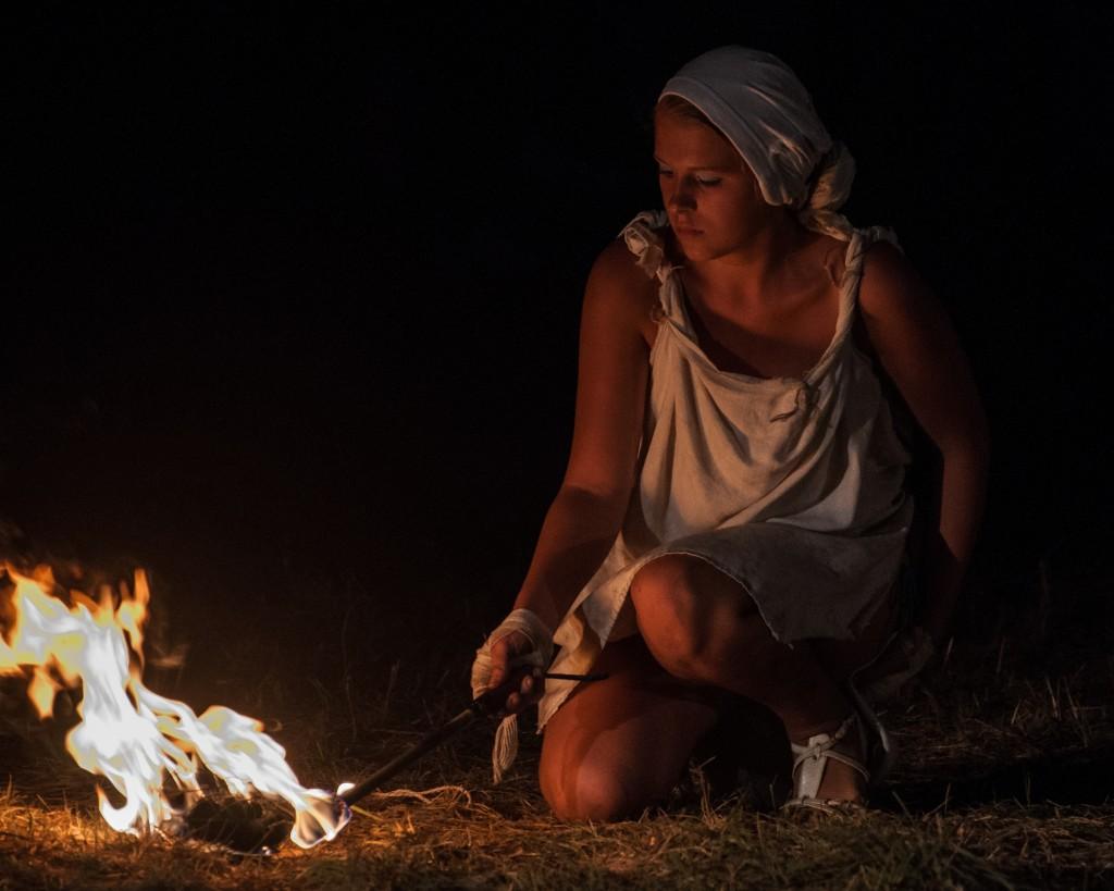 Zdjęcia: Grunwald, Warmia, Ogień, POLSKA