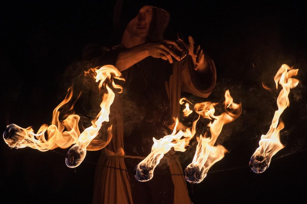 Zdjęcia: Grunwald, Warmia, Mag ognia, POLSKA