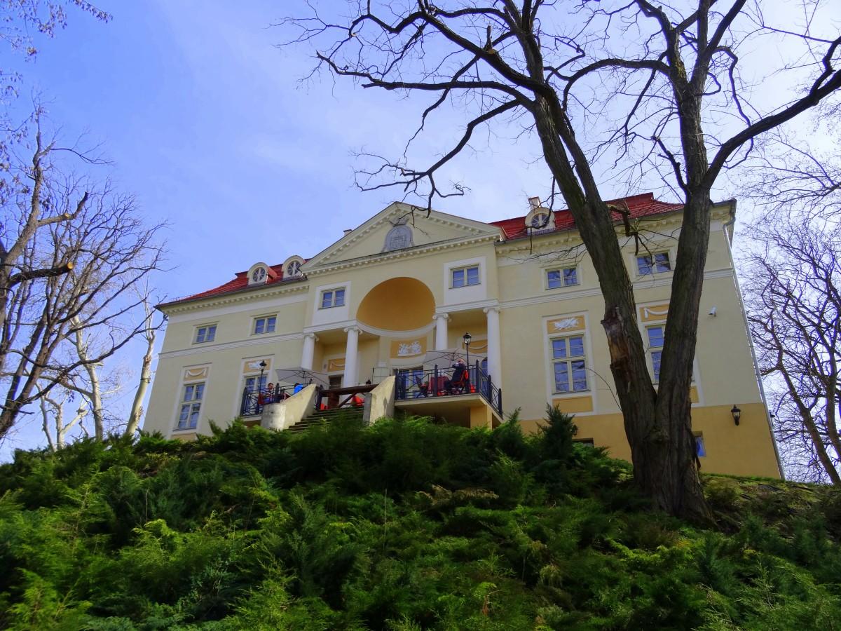 Zdjęcia: Samotwór, dolnośląskie, Pałac Aleksandrów, POLSKA