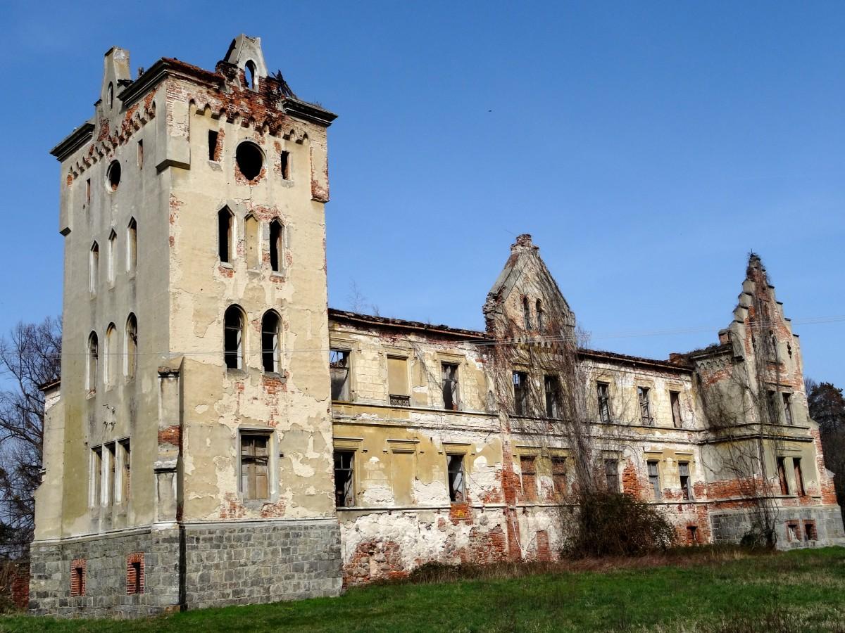 Zdjęcia: Gałów, dolnośląskie, Pałac w Gałowie, POLSKA