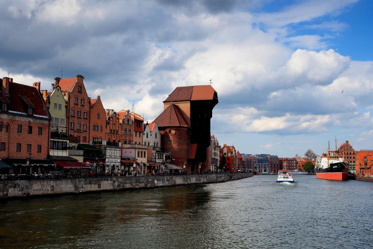 Zdjęcia: Gdańsk, Pomorze, nad Motławą..., POLSKA