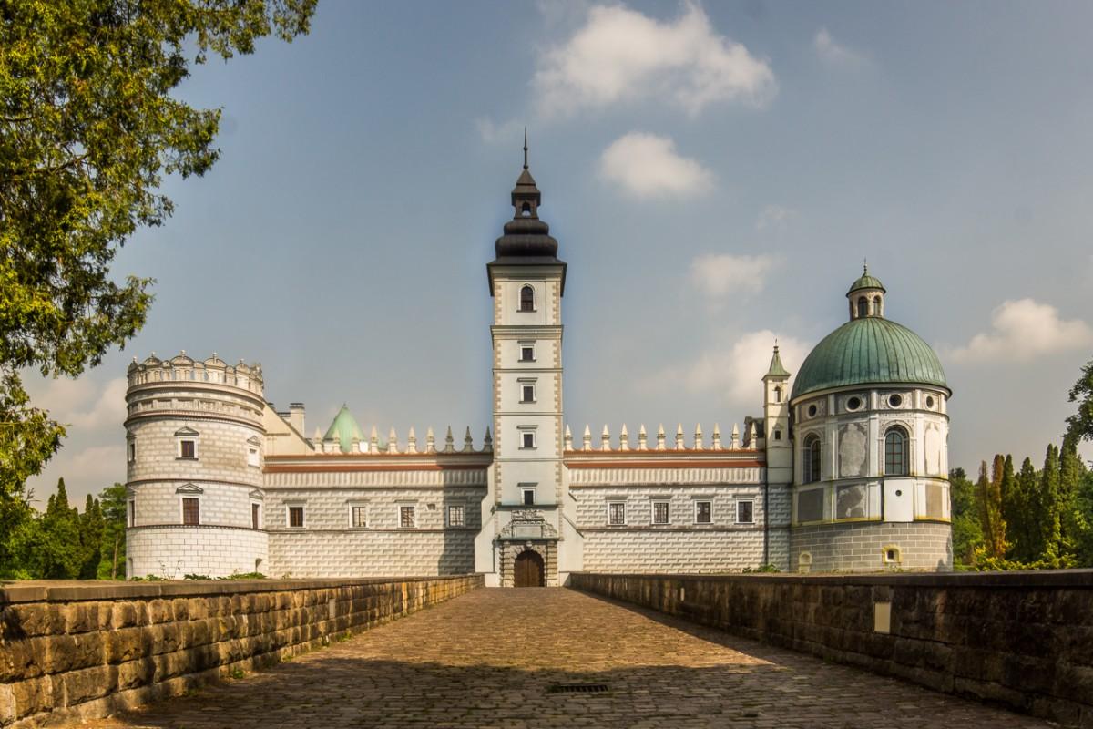Zdjęcia: Krasiczyn, Zamek, POLSKA