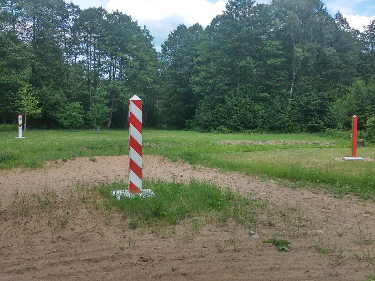 Zdjęcia: trudno znaleźć ale udało się, podlasie, trójstyk granic Polska Litwa Białoruś, POLSKA
