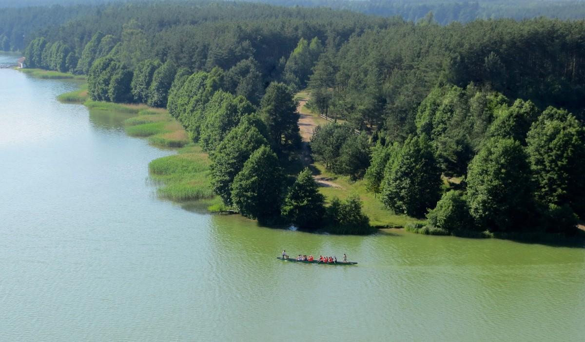 Zdjęcia: Wdzydze Kiszewskie, Kaszuby, u zbiegu czterech jezior..., POLSKA