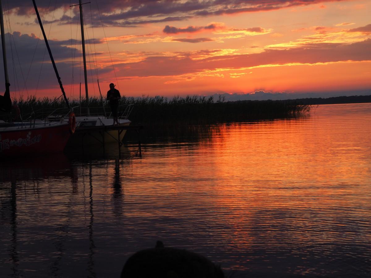 Zdjęcia: jezioro Niegocińskie, Mazury, Pejzaż po burzy, POLSKA