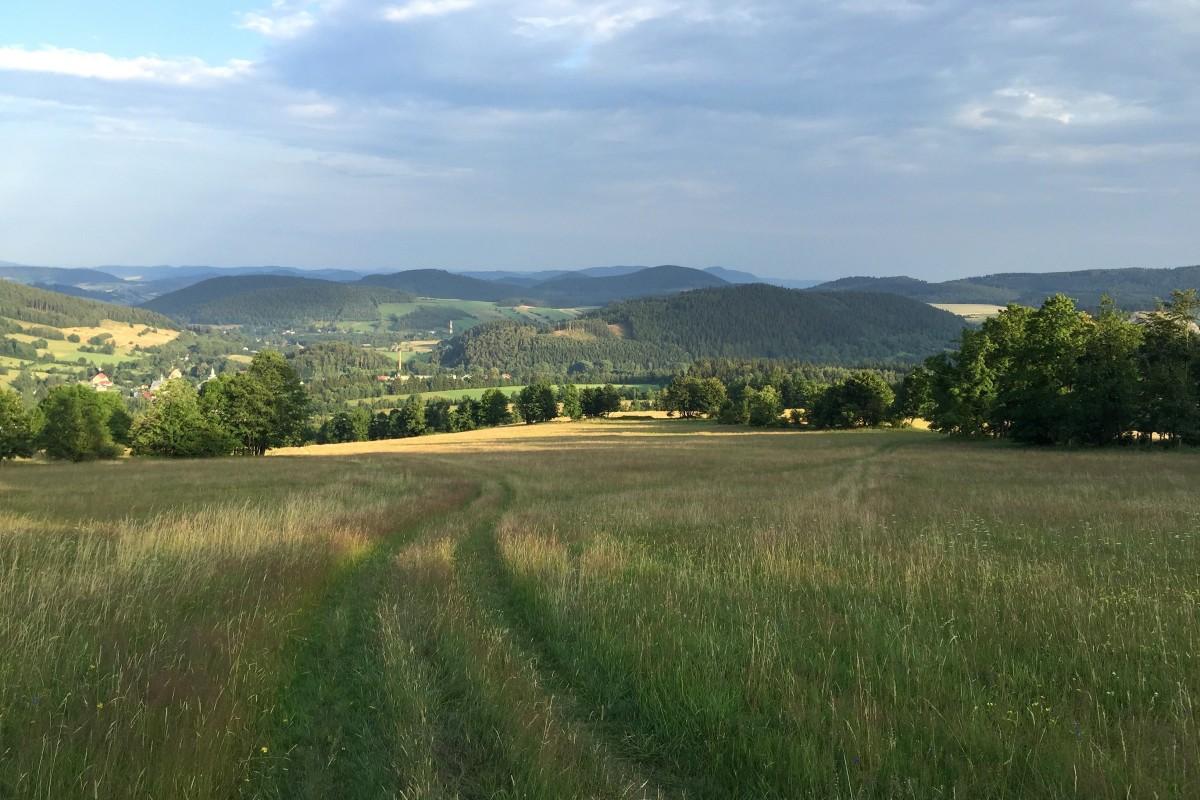Zdjęcia: Leszczyniec, dolnośląskie, na pograniczu..., POLSKA