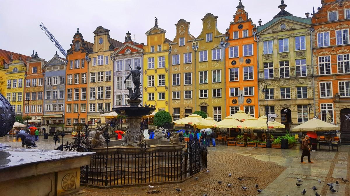 Zdjęcia: Gdańsk, Pomorskie, Kolorowy Gdańsk, POLSKA