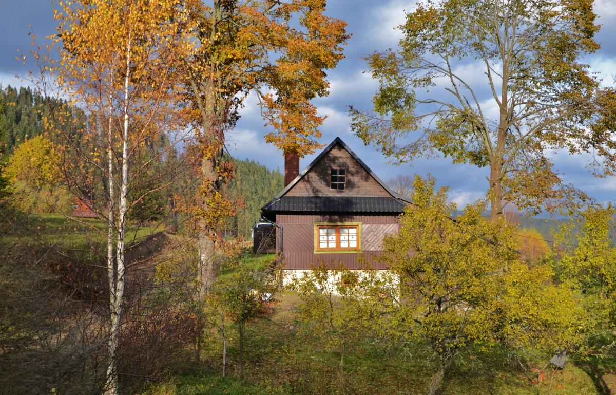 Zdjęcia: Soblówka, Beskid Żywiecki, Jesień II, POLSKA