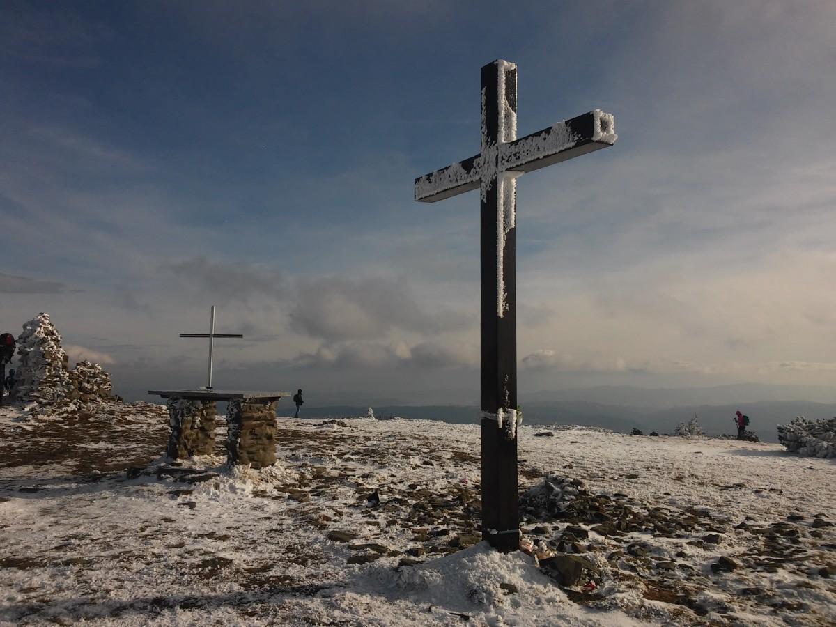 Zdjęcia: masyw Pilska, beskid żywiecki, Krzyż na Pilsku, POLSKA