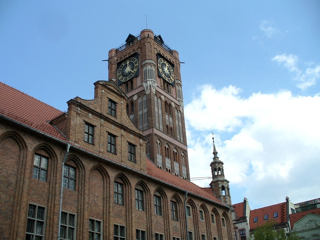 Zdjęcia: Toruń, kujawsko pomorskie, W Rynku Staromiejskim, POLSKA
