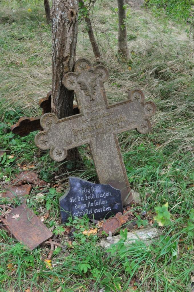 Zdjęcia: Rowy, Pomorskie, Rowy, stary, zniszczony cmentarz morski XVIII w., POLSKA