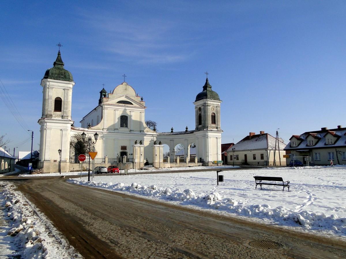 Zdjęcia: Tykocin, Podlasie, Tykocin w zimowej szacie., POLSKA