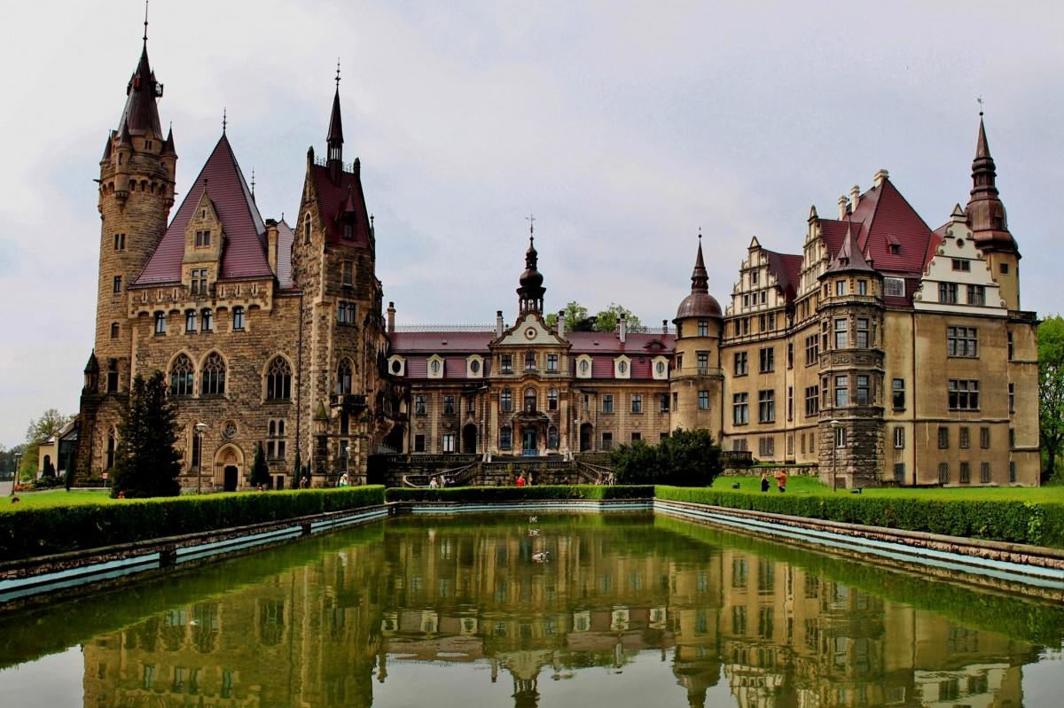 Zdjęcia: Moszna, opolskie, Pałac w Mosznej, POLSKA