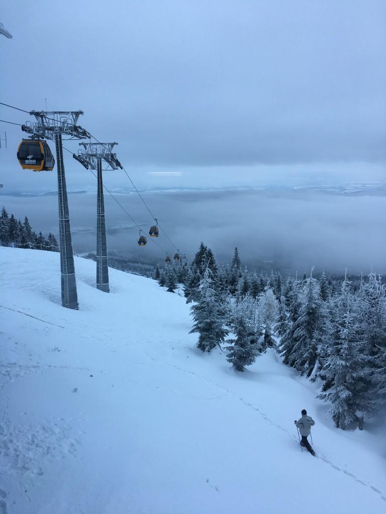 Zdjęcia: Świeradów Zdrój, Gondola na Stok Izerski, Zimowa aura - gondola na Stok Izerski, POLSKA