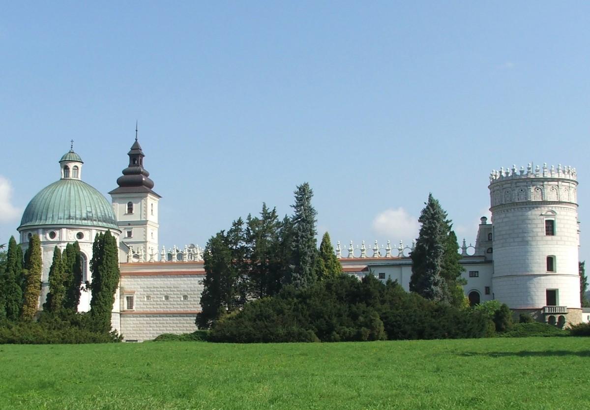 Zdjęcia: Krasiczyn, Województwo podkarpackie, powiat przemyski, Zamek w Krasiczynie, POLSKA