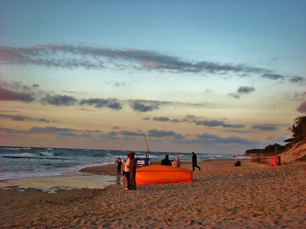 Zdjęcia: Wicie, województwo zachodniopomorskie, Na plaży, POLSKA