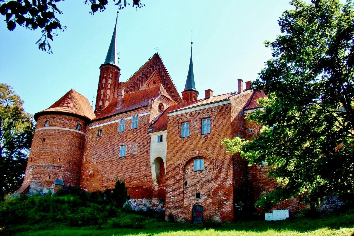 Zdjęcia: Frombork, województwo warmińsko-mazurskie, Frombork-archikatedra z XIV wieku, POLSKA