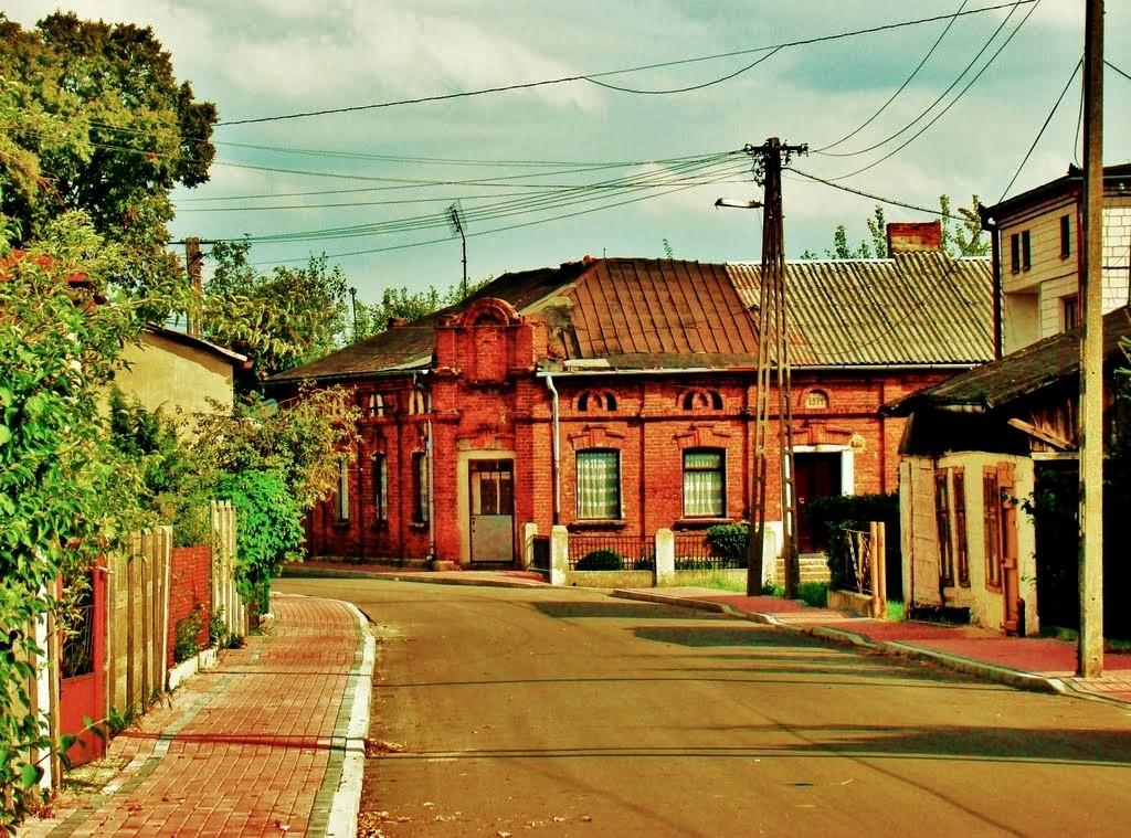 Zdjęcia: Będków, województwo łódzkie, Będków-ulica Krakowska, POLSKA
