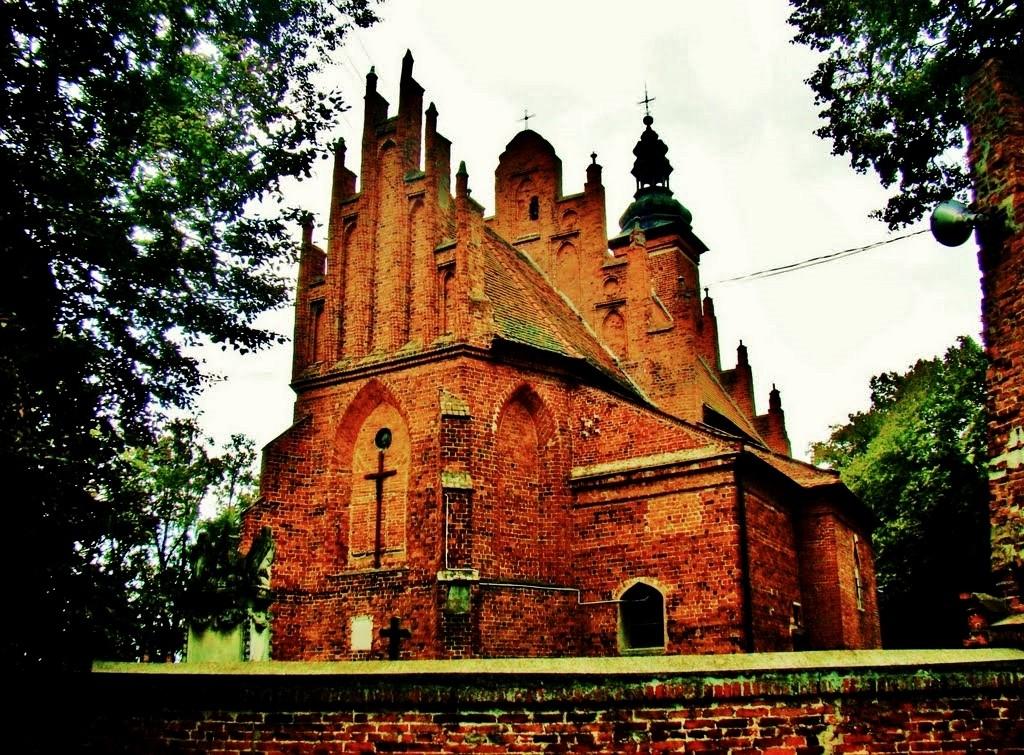Zdjęcia: Będków, województwo łódzkie, Będków-kościół pw.NMP z XV wieku, POLSKA