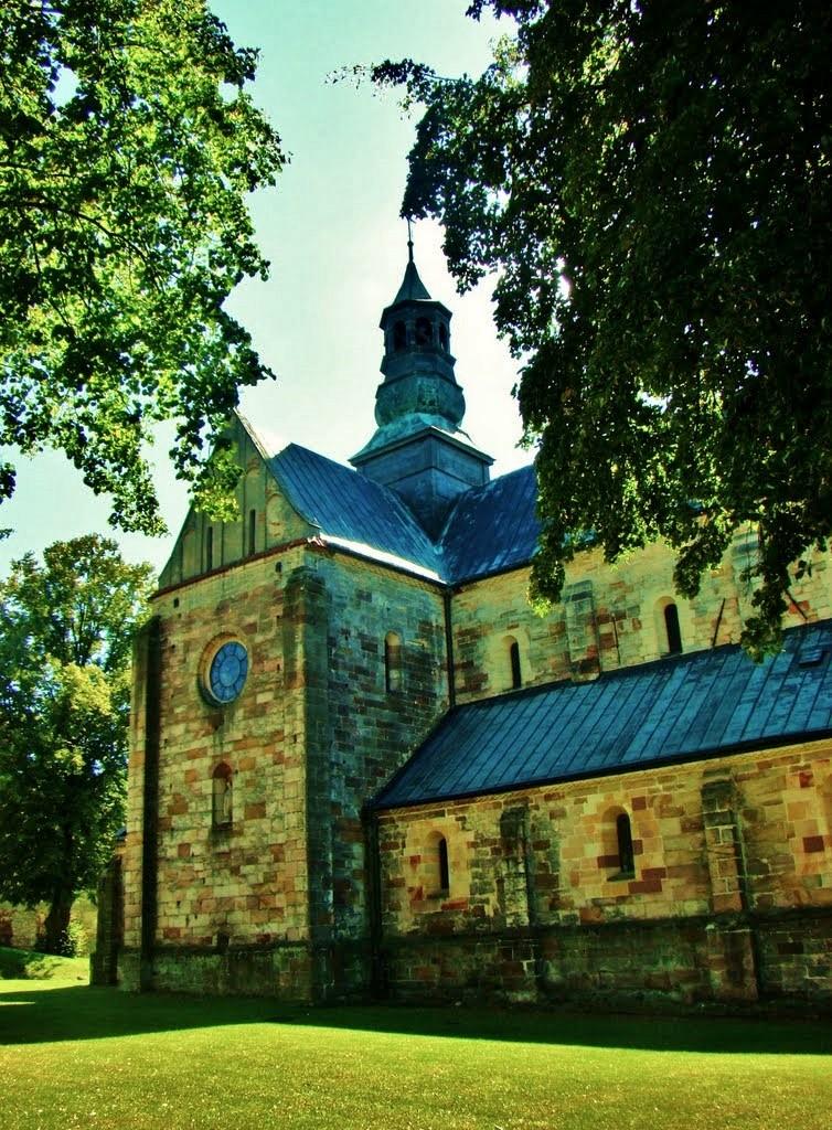 Zdjęcia: Sulejów, województwo łódzkie, Opactwo Cystersów-kościół św.Tomasza z XIII wieku, POLSKA