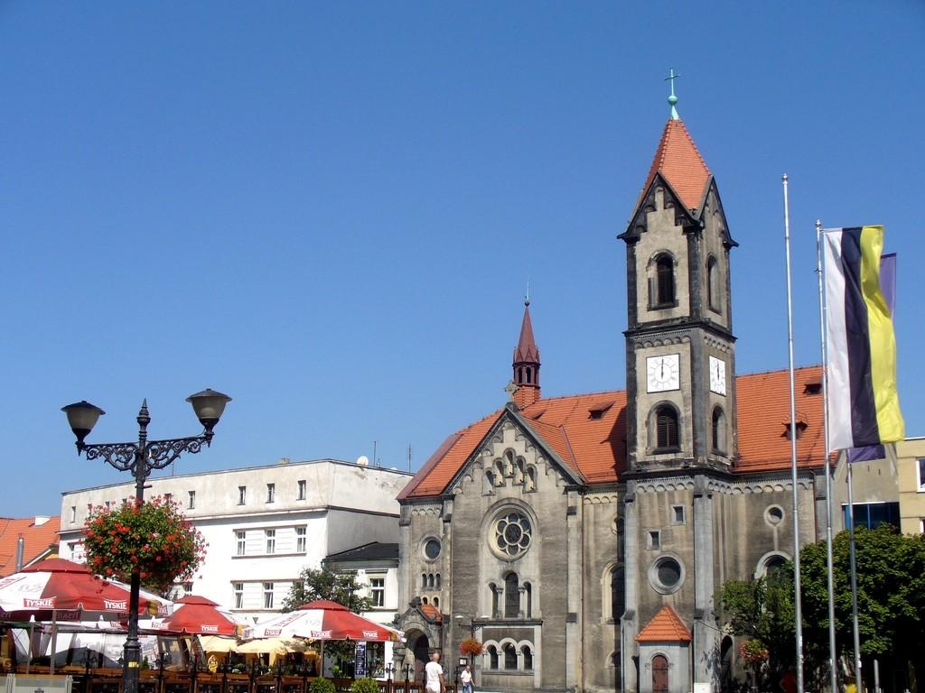 Zdjęcia: Tarnowskie Góry, ślaskie, Kościół ewangelicko-augsburski, POLSKA
