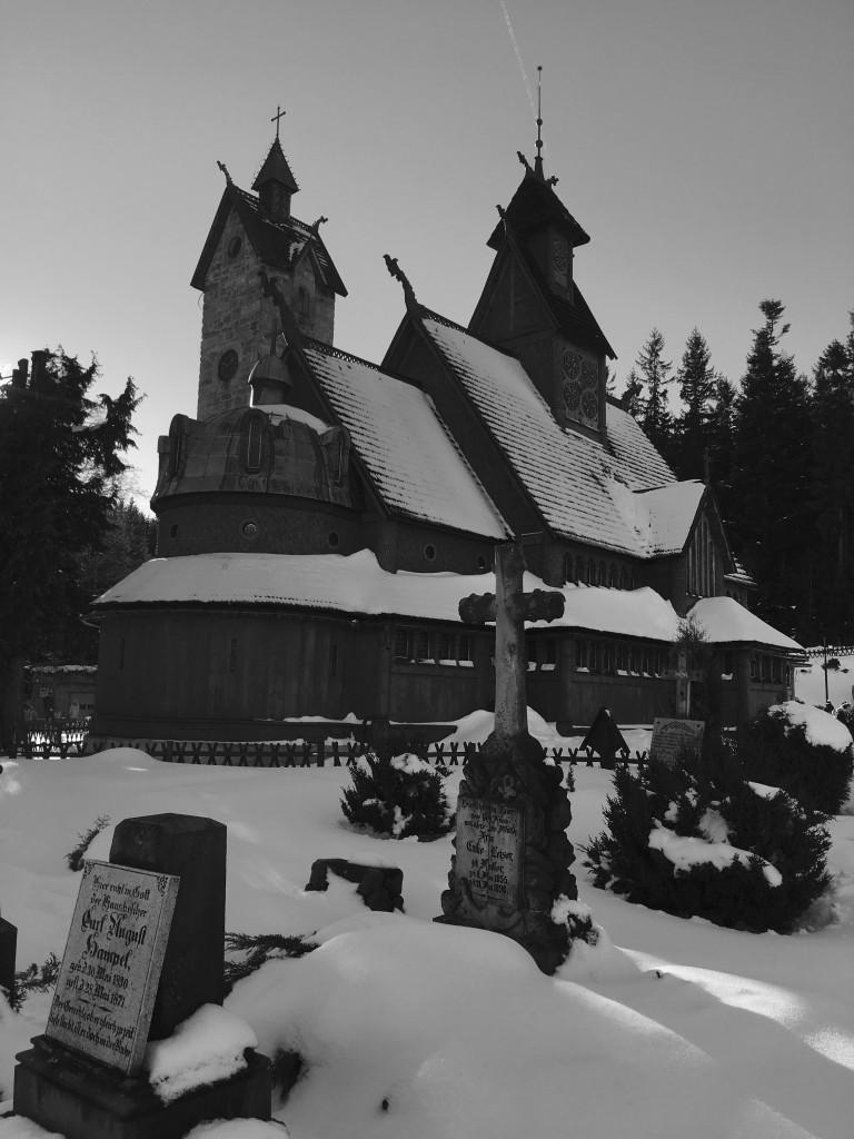 Zdjęcia: Karpacz, Dolny Śląsk, Cmentarz przy Wang, POLSKA