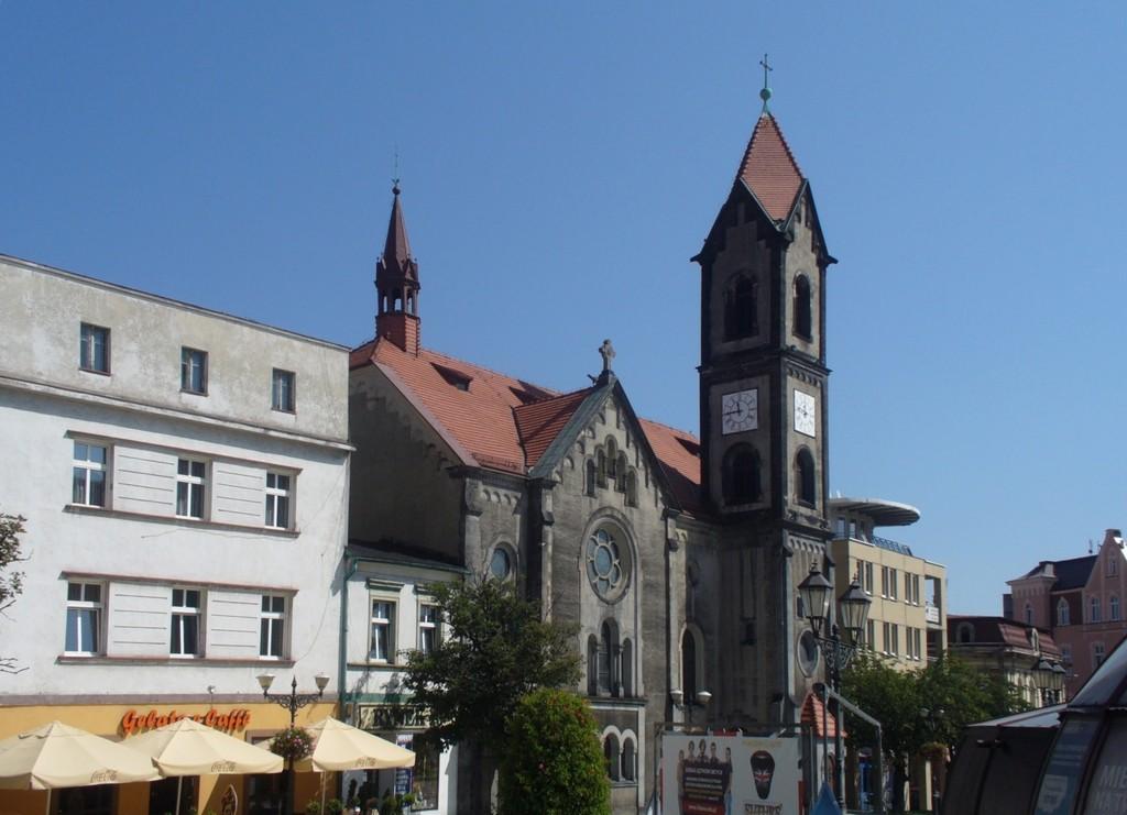 Zdjęcia: Tarnowskie Góry, śląskie, Fragment rynku, POLSKA