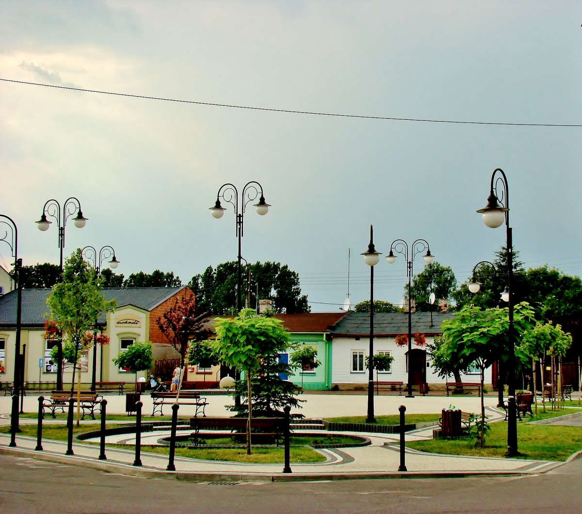 Zdjęcia: Wolbórz, województwo łódzkie, Wolbórz-rynek, POLSKA