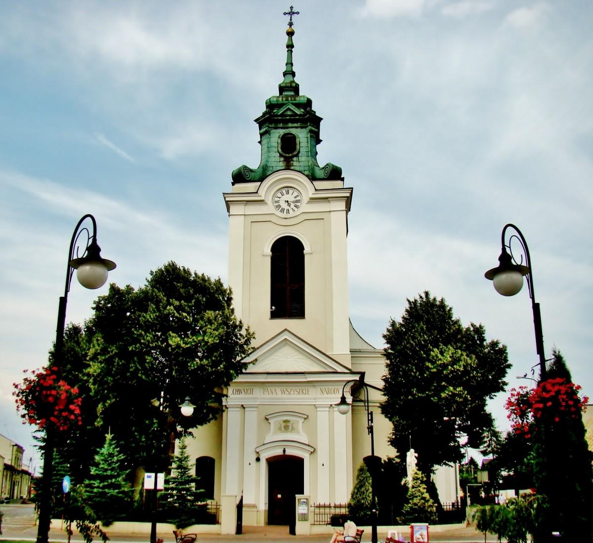 Zdjęcia: Wolbórz, województwo łódzkie, Kolegiata św.Mikołaja, POLSKA