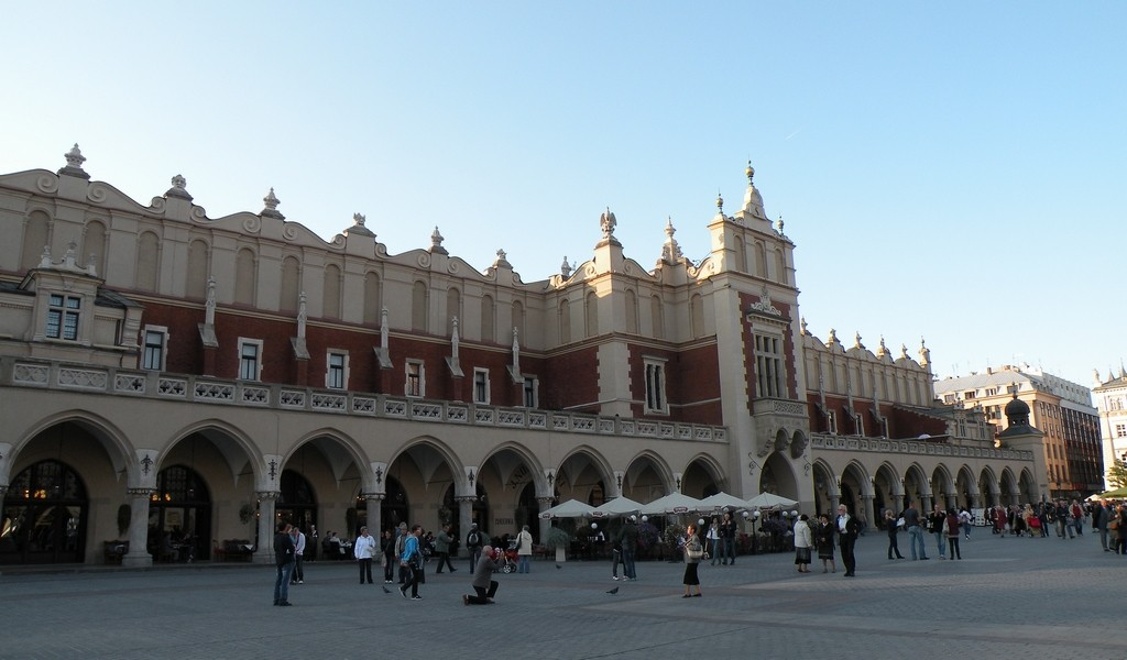 Zdjęcia: Kraków, małopolskie, Sukiennice, POLSKA