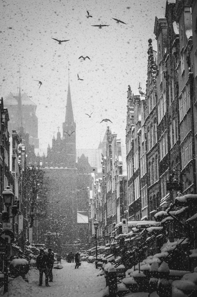 Zdjęcia: Gdańsk, Pomorskie, Zimowy Gdańsk, POLSKA